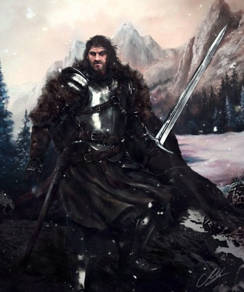 Brandon stark the wild wolf by mike hallstein-dadi0nx.jpeg